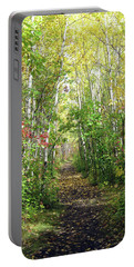 Path In The Woods 3 Portable Battery Charger