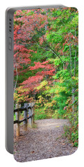 Path In The Woods Portable Battery Charger