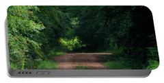 Portable Battery Charger featuring the photograph Path Of Light Horizontal by Shelby Young