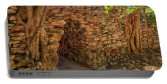Portable Battery Charger featuring the photograph Path Of The Ancients - Mayan Ruins - Mexico by Jason Politte