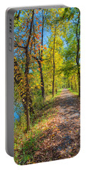 Path Through Fall Portable Battery Charger