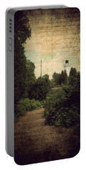 Path To Cana Island Lighthouse Portable Battery Charger