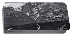 Portable Battery Charger featuring the photograph Path To Longs Peak by Dan Sproul