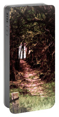 Path To Nowhere Portable Battery Charger by Bonnie Willis