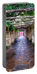 Path To The Alamo Portable Battery Charger by Anthony Jones