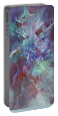 Pathway Of A Prayer Portable Battery Charger by Karen Kennedy Chatham