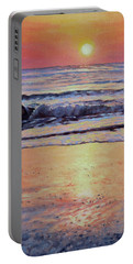 Pathway To Dawn - Outer Banks Sunrise Portable Battery Charger