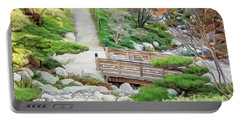Pathway Trough Japanese Garden Portable Battery Charger