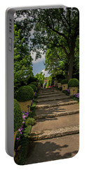 Pathway Up To De Golyer House Portable Battery Charger