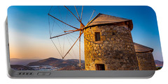 Patmos Windmills Portable Battery Charger