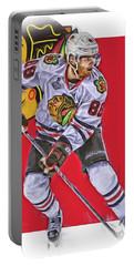 Patrick Kane Chicago Blackhawks Oil Art Series 2 Portable Battery Charger