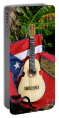 Patriotic Cuatro Portable Battery Charger by The Art of Alice Terrill