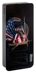 Patriotic Decor Portable Battery Charger