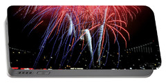 Patriotic Fireworks S F Bay Portable Battery Charger