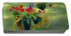 Patriotic Garden Decor Portable Battery Charger