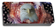 Patriotic Tribute Portable Battery Charger