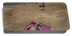 Portable Battery Charger featuring the photograph Pattaya Beach by Setsiri Silapasuwanchai