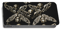 Pattern Of Antique Cupid Angels  Portable Battery Charger