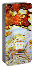 Portable Battery Charger featuring the photograph Patterns In Stone - 201 by Paul W Faust - Impressions of Light