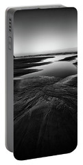 Portable Battery Charger featuring the photograph Patterns In The Sand by Jon Glaser