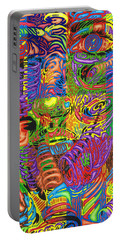 Patterns Of Personality Portable Battery Charger