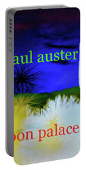 Paul Auster Poster Moon Palace Portable Battery Charger