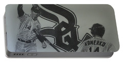 Paul Konerko Collage Portable Battery Charger