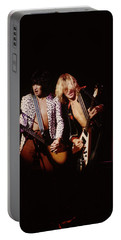 Paul Raymond And Michael Schenker Of Ufo Portable Battery Charger