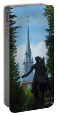 Paul Revere Old North Church Boston Portable Battery Charger
