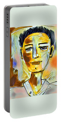 Pauls Portrait Portable Battery Charger by Elaine Lanoue