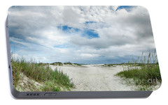 Portable Battery Charger featuring the photograph Pawleys Island  by Kathy Baccari