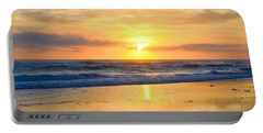 Portable Battery Charger featuring the photograph Pea Island In November by Barbara Ann Bell