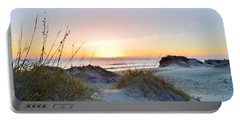 Pea Island Sunrise 12/28/16 Portable Battery Charger
