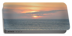 Portable Battery Charger featuring the photograph Pea Island Sunrise by Barbara Ann Bell