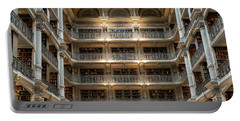 Peabody Library Portable Battery Charger