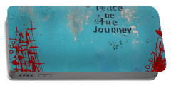 Peace Be The Journey Portable Battery Charger