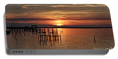Peace Be With You Sunset Portable Battery Charger