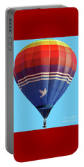 Peace Dove Hot Air Balloon Portable Battery Charger