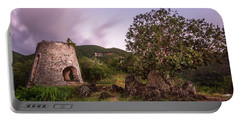 Portable Battery Charger featuring the photograph Peace Hill Ruins by Adam Romanowicz