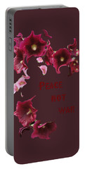 Peace Not War Portable Battery Charger by David and Lynn Keller