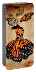 Portable Battery Charger featuring the mixed media Peace Of Mind by Marvin Blaine