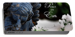 Portable Battery Charger featuring the photograph Peace On Earth Angel by Shelley Neff