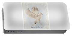 Portable Battery Charger featuring the photograph Peace On Earth by Diane Alexander