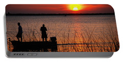Peace Over The Water Portable Battery Charger