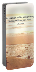 Portable Battery Charger featuring the photograph Peace by Peggy Hughes