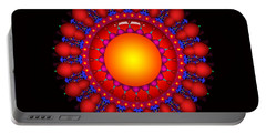 Portable Battery Charger featuring the digital art Peace by Robert Orinski