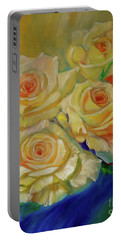 Peace Roses Portable Battery Charger