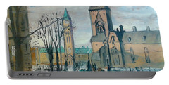 Peace Tower And East Block, Ottawa Portable Battery Charger