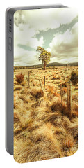 Peaceful Country Plains Portable Battery Charger