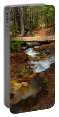 Portable Battery Charger featuring the photograph Peaceful Crossing by James BO Insogna